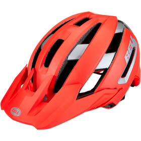 Bell Super Air MIPS Helm, matte/gloss red/gray